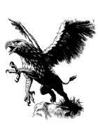 Filler spot - creature: griffin - RPG Stock Art