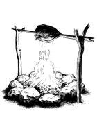 Filler spot - items: campfire - RPG Stock Art