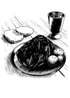 Filler spot - items: tavern meal - RPG Stock Art