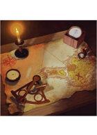 Colour card art - items: nautical - RPG Stock Art