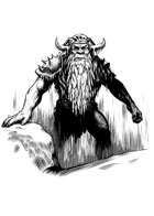 Filler spot - character: frost giant - RPG Stock Art