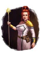 Filler spot colour - character: cleric - RPG Stock Art