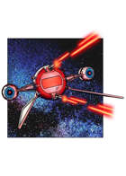 Filler spot colour line - vehicles: galactic striker - RPG Stock Art