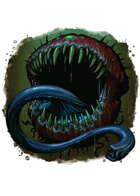 Filler spot colour - creature: cacodemon - RPG Stock Art