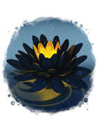 Filler spot colour - items: black lotus - RPG Stock Art