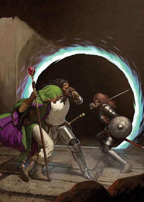 Cover full page - Portal - RPG Stock Art