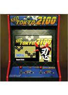 Colour card art - items: arcade; neo tokyo - RPG Stock Art