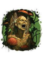 Filler spot colour - creature: carnivorous tree - RPG Stock Art