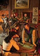 Cover full page - Tavern Interior - RPG Stock Art