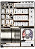 Era: Survival - Premade Character Sheets Pack