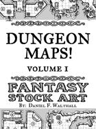 Dungeon Maps! Fantasy Stock Art