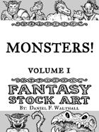 Monsters! Fantasy Stock Art Volume 1