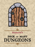 Axebane's Deck of Many Dungeons