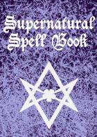 Supernatural Spell Book