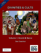 Divinities and Cults (DCC RPG)