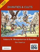 Divinities and Cults: Volume III (DCC RPG)