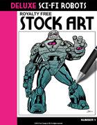 Deluxe Sci-Fi Robots #1