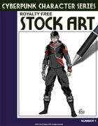 Cyberpunk Character Stock Art #1
