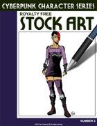 Cyberpunk Character Stock Art #2
