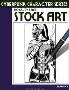Cyberpunk Character Stock Art #4