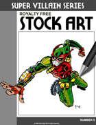 Super Villain Stock Art #5