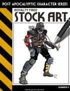 Post Apocalyptic Character Stock Art #5