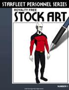 Starfleet Personnel Stock Art Series #1