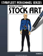 Starfleet Personnel Stock Art Series #2