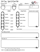 Labyrinth Lord Form-Fillable Character Sheet