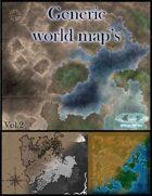Generic worldmaps Vol.2