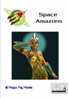 Outer Space Raiders: Space Amazons