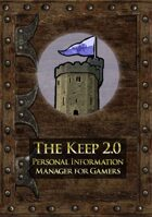 The Keep 2.0 Upgrade - Personal Information Manager for Gamers