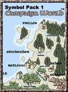 Symbol Pack 1: Campaign World (for Fractal Mapper)
