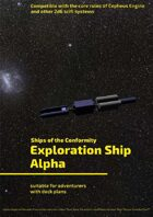 Exploration Ship Alpha (Ships of the Conformity)