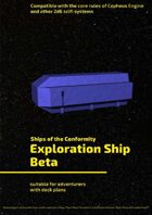 Exploration Ship Beta (Ships of the Conformity)