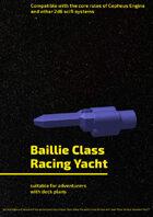 Baillie Class Racing Yacht
