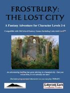 Frostbury:  The Lost City