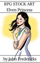 Elven Princess - RPG Stock Art
