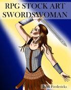 Swordswoman: RPG STOCK ART