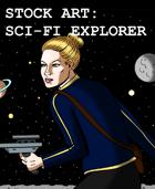 Stock Art: Sci-Fi Explorer