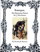 Krampus, The Christmas Demon for 5th Era Games