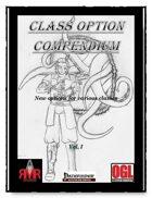 Class Option Compendium Vol. I