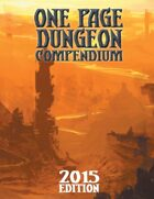 One Page Dungeon Compendium 2015 Print Edition