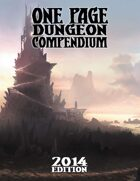 One Page Dungeon Compendium 2014 Edition