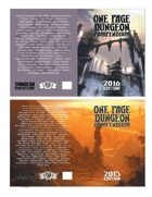 2015 & 2016 One Page Dungeon Contest Print Editions [BUNDLE]