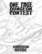 One Page Dungeon Contest Submission Guide