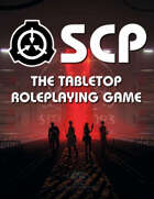 SCP The Tabletop RPG