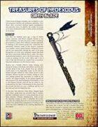 Treasures of NeoExodus: Omen Blade (PFRPG)