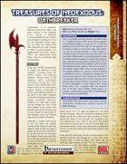 Treasures of NeoExodus: Oathbreaker (PFRPG)