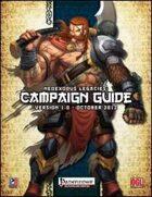 NeoExodus Legacies: Campaign Guide (PFRPG)